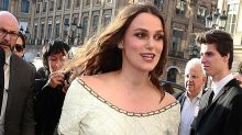 Keira Knightley is pregnant with baby number two! Actress debuts growing bump as she steps out in Paris
