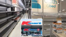 Kmart shelves remain bare as Chinese-made stock runs dry