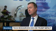 Teck Resources CEO Excited About Steel, Coal Prices