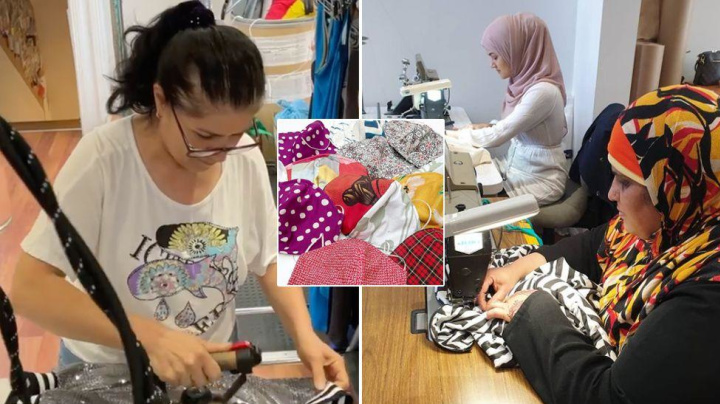 Social Enterprise Hiring Refugees And Migrants Sees More Demand For Face Masks