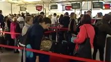 Sydney rattled by gale-force winds: Buildings damaged, airport landings aborted