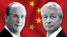 Wall Street doubles down on China while corporate America now moves the other way