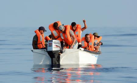Humanitarian ship seeks European port for rescued migrants
