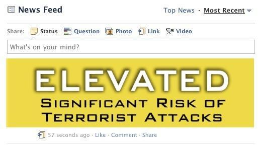 US Homeland Security Department planning to use Facebook, Twitter for terrorism alerts