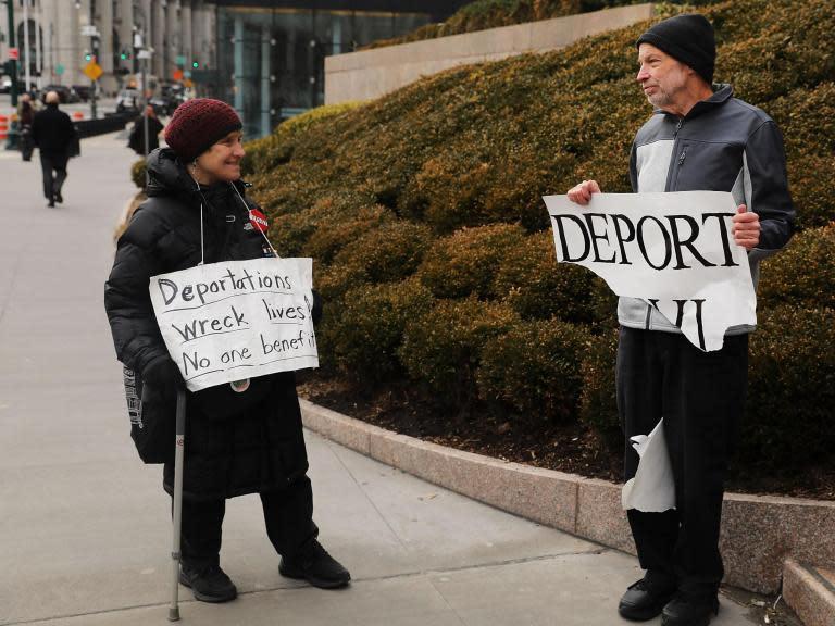 US asylum seekers in limbo resist deportation under Trump: 'I don't want to die'