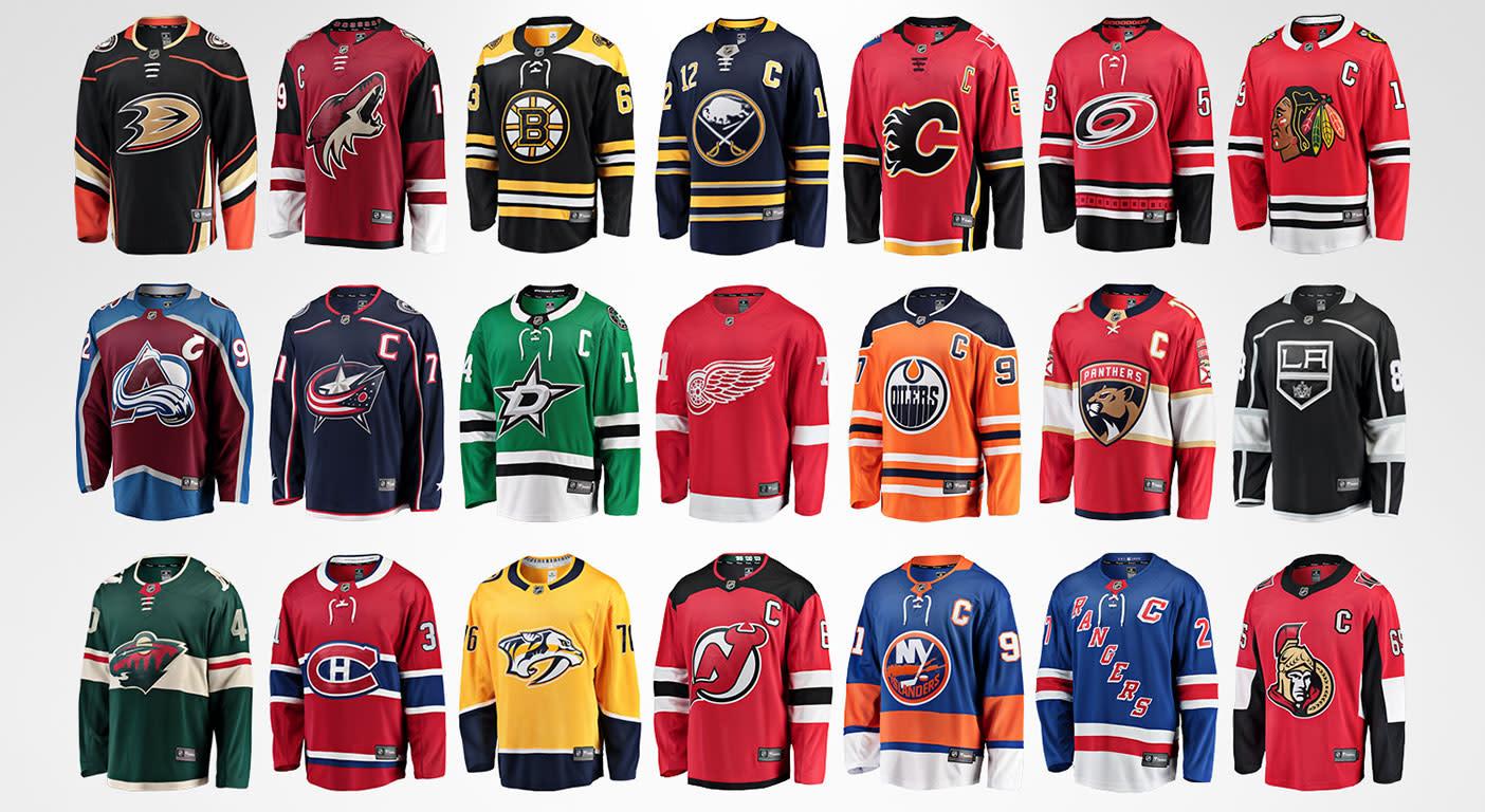 Fanatics launches new NHL replica jerseys