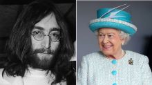 John Lennon's sassy letter to the Queen has been discovered
