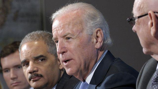 Is Biden the right person to lead the push for gun control?