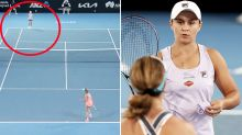 'Can't believe it': Tennis world stunned by second Ash Barty collapse
