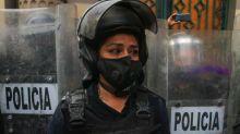 La falsa historia de la mujer policía 'golpeada y escupida' en la marcha feminista de CDMX
