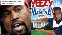 'Jesus Wept': Kanye West's Bid for US Presidency Unleashes Memes on Twitter
