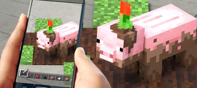 Stop saying 'Minecraft Earth' is essentially 'Pokémon Go'