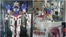 PG 1/60 Gundam Exia實物現香港 奧海城睇3米高達