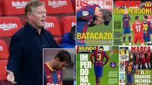 Spanish media slam 'unpardonable' Barcelona after loss to Granada