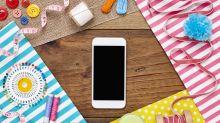 DIY: Stylischer Halter für Handy und Ladekabel