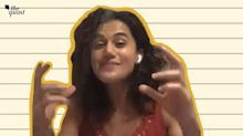 Where Are the Rs 5 Cr, Even I Want to Know: Taapsee on I-T Raids