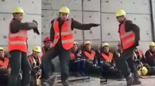 ¿El nuevo Michael Jackson? Albañil sorprende por su baile que recuerda al Rey del Pop