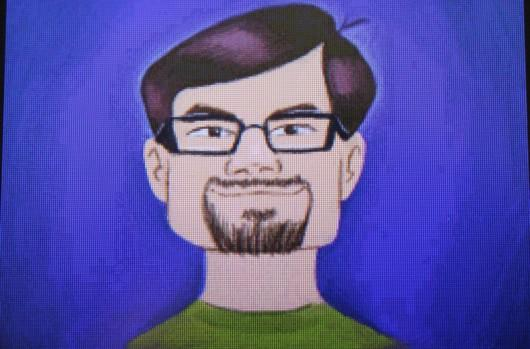 Confused Joystiq writer immortalized in Art Academy promotion