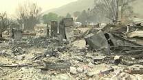 Washington wildfires destroy homes
