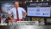 Cramer's game plan: A pivotal earnings week