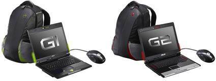 Asus officially unveils its G1 and G2 gaming notebooks