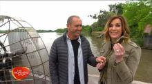 Swamp tour on the Mississippi River