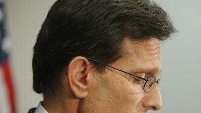 After a Stinging Loss, Cantor Will Step Down