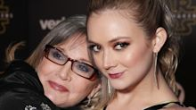 Billie Lourd Remembers Carrie Fisher While 'Sending All My Love' to Those Struggling on Mother's Day