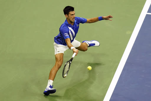 Right on time: Djokovic questions Open clock on way to 24-0