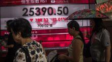 La Bolsa de Hong Kong cae ante el pesimismo por las negociaciones comerciales