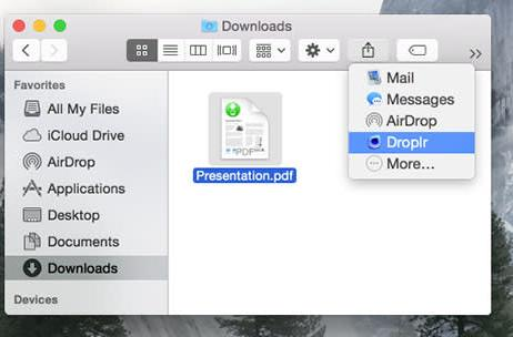 Droplr is back with new features and Yosemite support