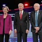 Donald Trump And Impeachment Cast Shadow Over Democratic Presidential Debate