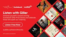 Audible.ca and Scotiabank Join Forces to Offer Canadians Free Scotiabank Giller Prize-Winning Audiobooks