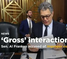 New allegation against Franken, this time met with silence
