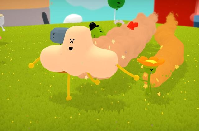 Katamari creator's friendship game 'Wattam' arrives in December