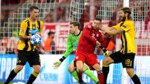 Viel Gewürge, aber immerhin ein Sieg: Bayern schlägt Athen