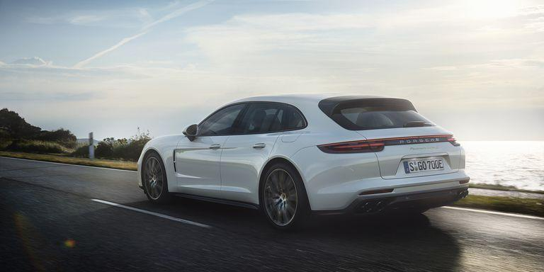 <p>The most powerful version of the Panamera Sport Turismo is the Turbo S E-Hybrid, which uses tech from the company's 918 hypercar to make 638 horsepower, all while returning 48 MPGe. Not bad. </p>