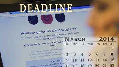 Obamacare Deadline Day, More Website Troubles