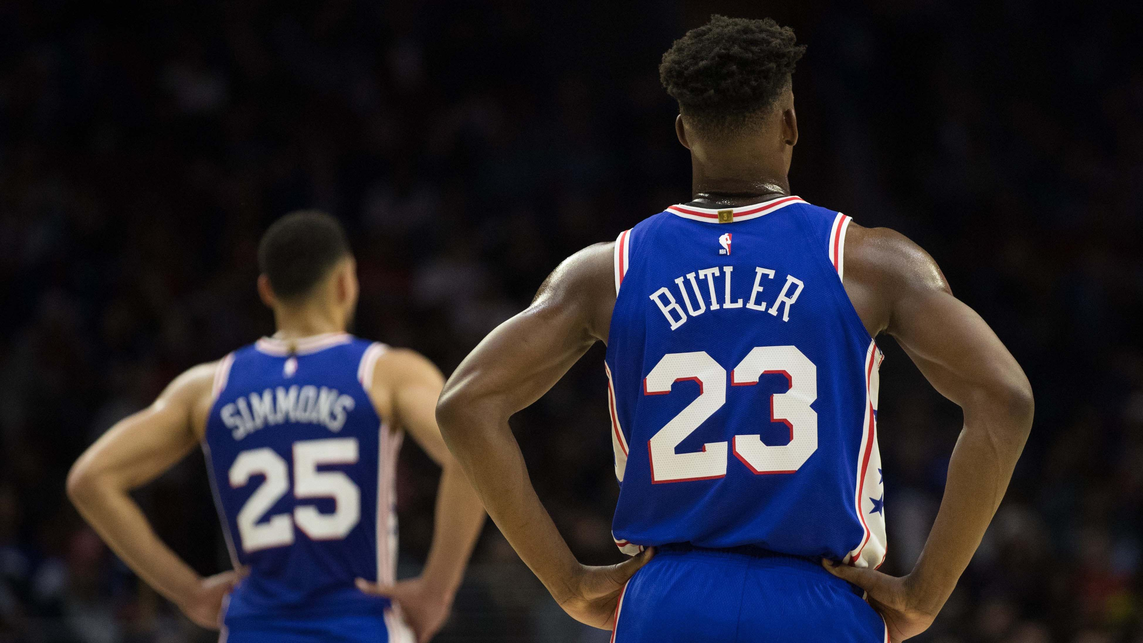 Jimmy Butler as point guard going from experiment to solution