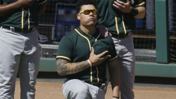 First MLB player to kneel is 'bitter as f---'