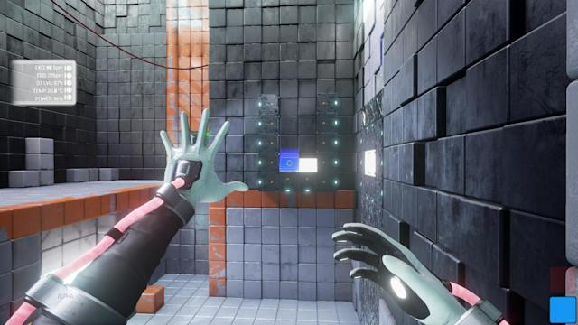 Playing with shiny, mysterious blocks in 'QUBE 2'