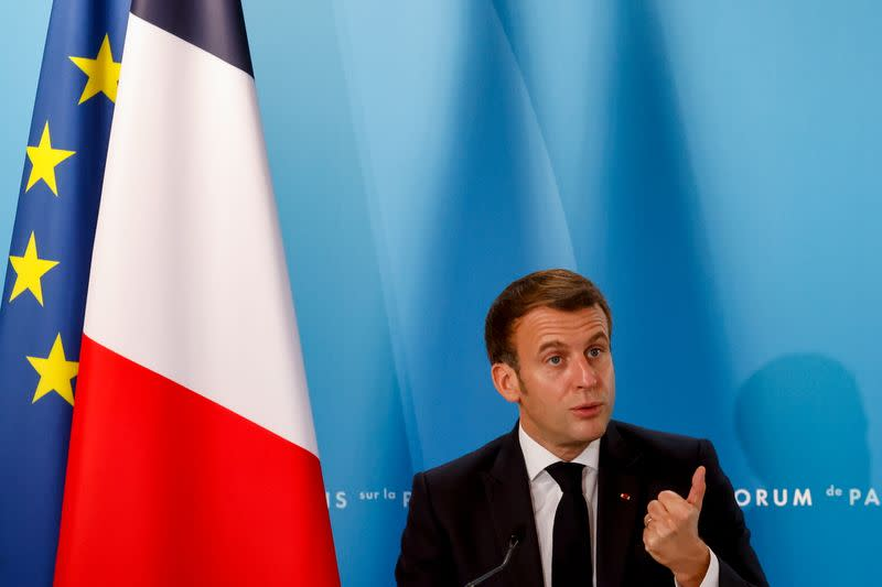 Macron: Europe needs its own sovereignty in defence, even with new U.S. government