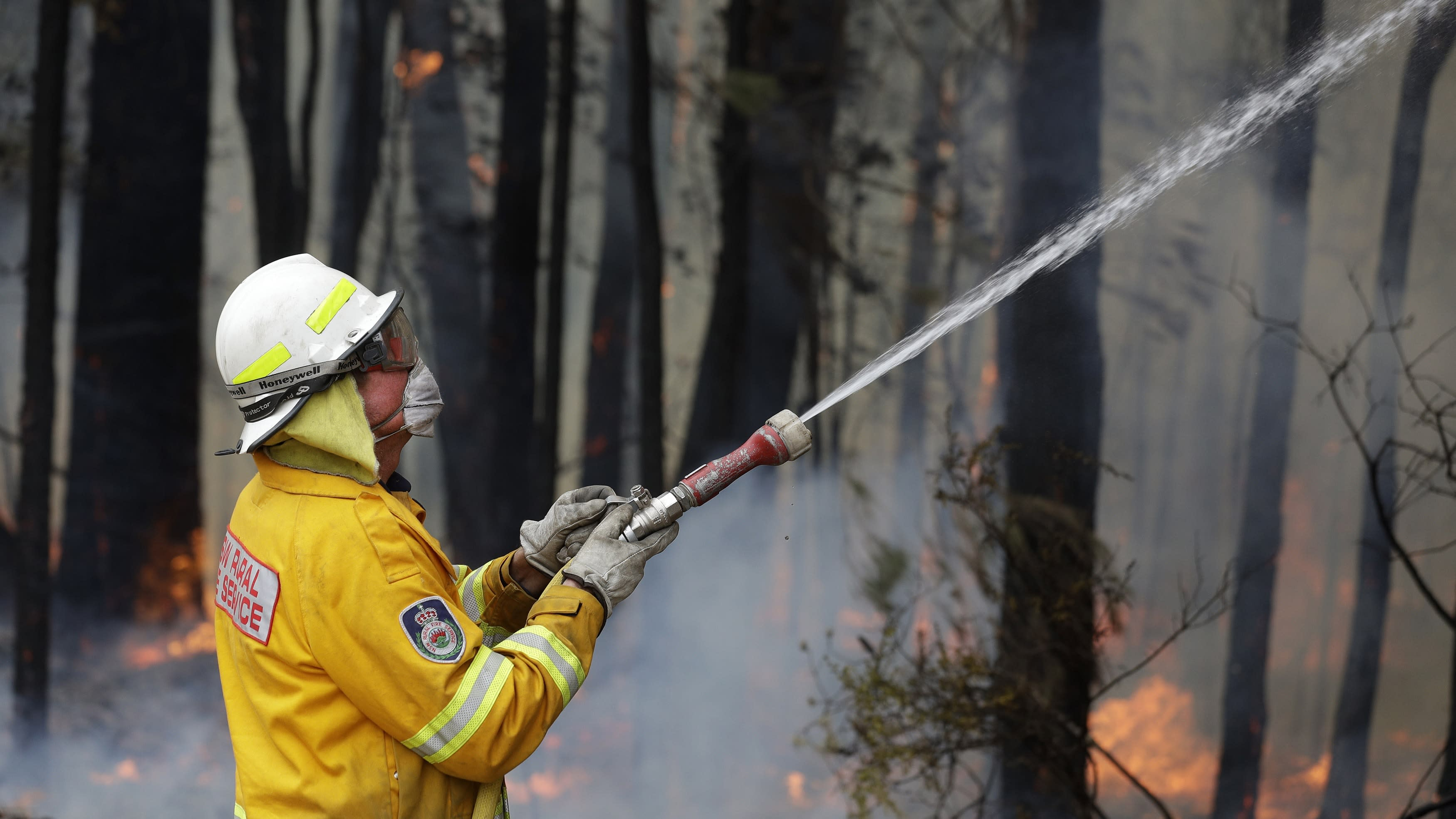 Australian Prime Minister's approval rating scorched by forest fires