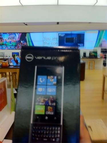 Dell Venue Pro on sale at Microsoft stores, but good luck getting one