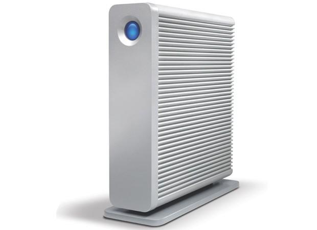 LaCie d2 upgrade melds Thunderbolt and USB 3.0 in one external desktop drive