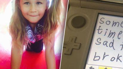 Mum's heartbreaking find on daughter's Nintendo