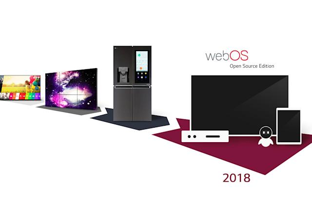 LG wants to take webOS beyond TVs with 'Open Source Edition'