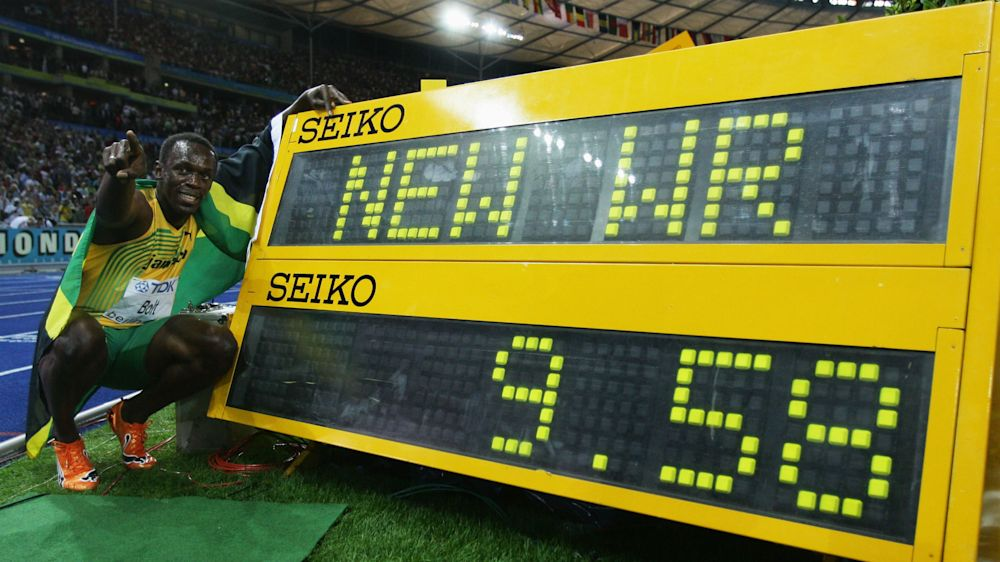 Usain Bolt's record-breaking career in numbers