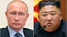Putin awards medal to Kim Jong Un marking victory over Nazi Germany