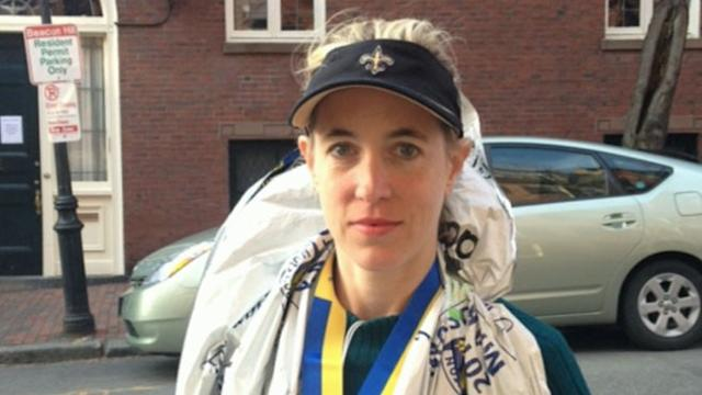 Allsion Raite Talks About Explosions After Finishing Boston Marathon